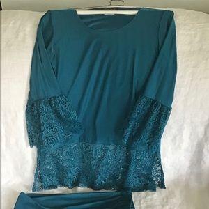 🛍Bundle! Slinky Brand Comfy, Classy 2 pc outfit